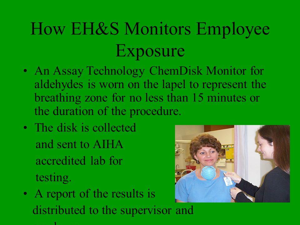 How EH&S Monitors Employee Exposure