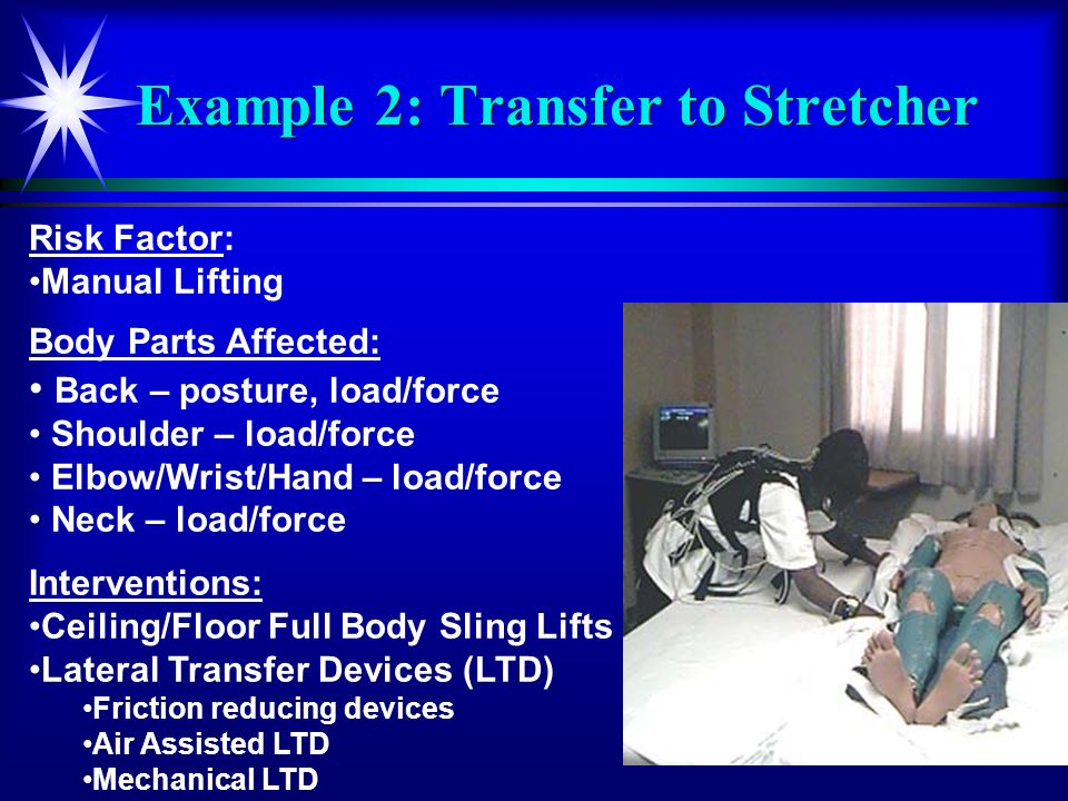 Example 2: Transfer to Stretcher