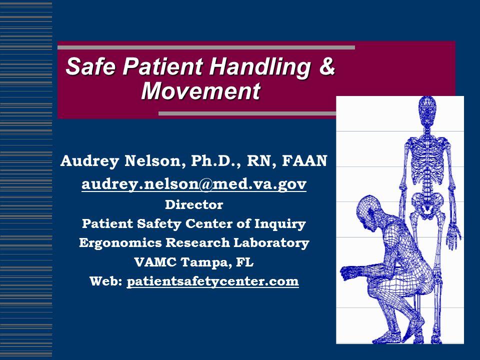 Safe Patient Handling & Movement