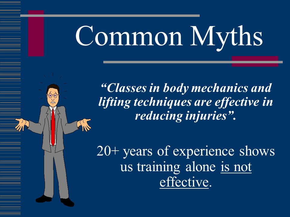 20+ years of experience shows us training alone is not effective.