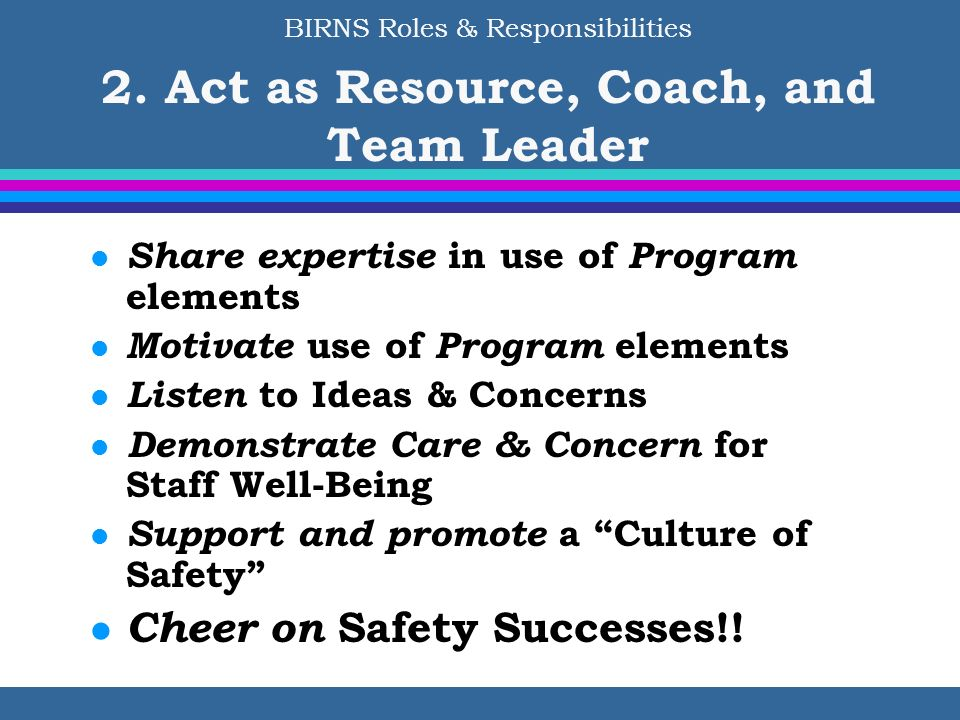 Cheer on Safety Successes!!
