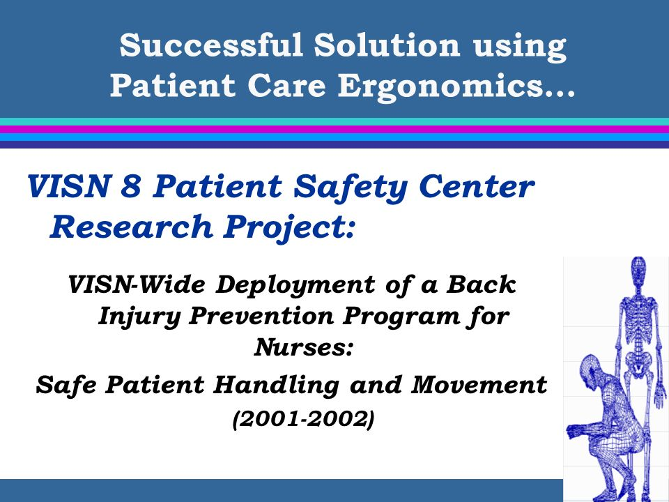 Successful Solution using Patient Care Ergonomics…