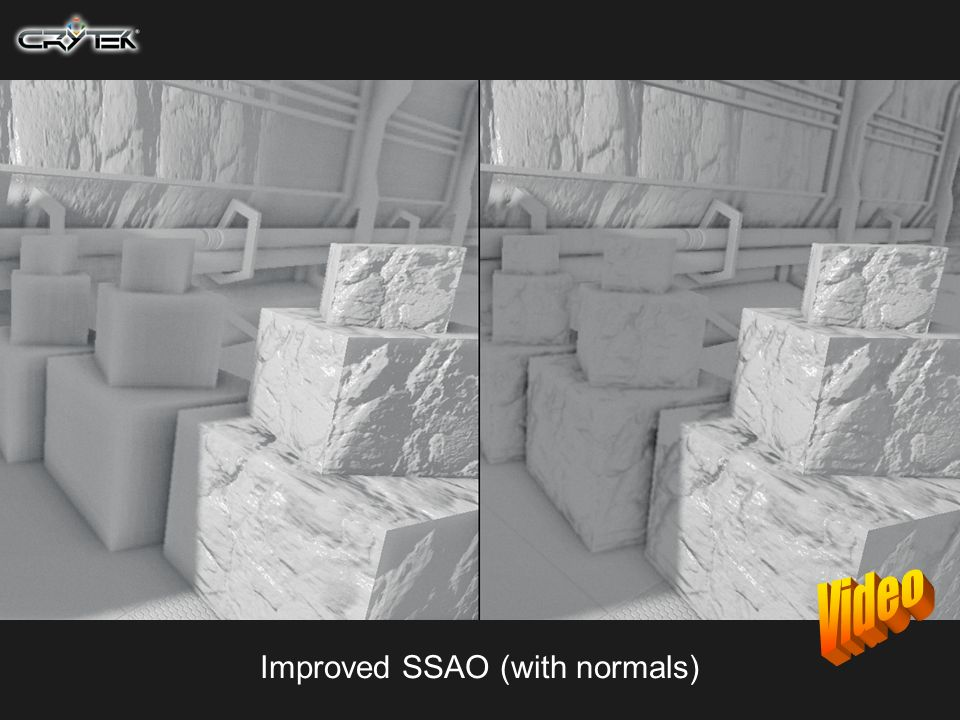 Improved SSAO (with normals)
