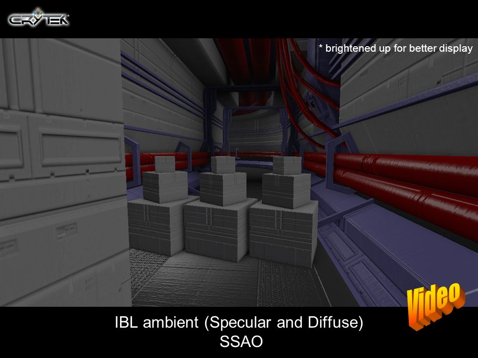 IBL ambient (Specular and Diffuse) SSAO