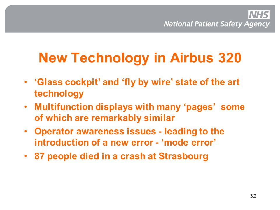 New Technology in Airbus 320