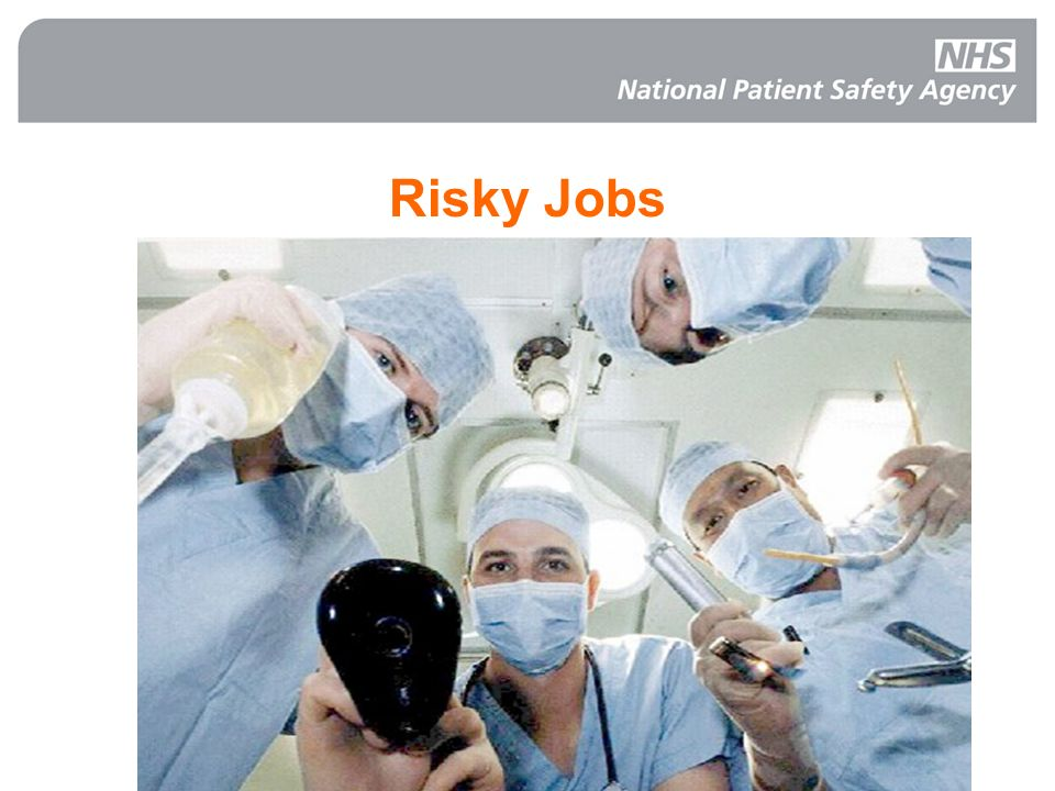 Risky Jobs