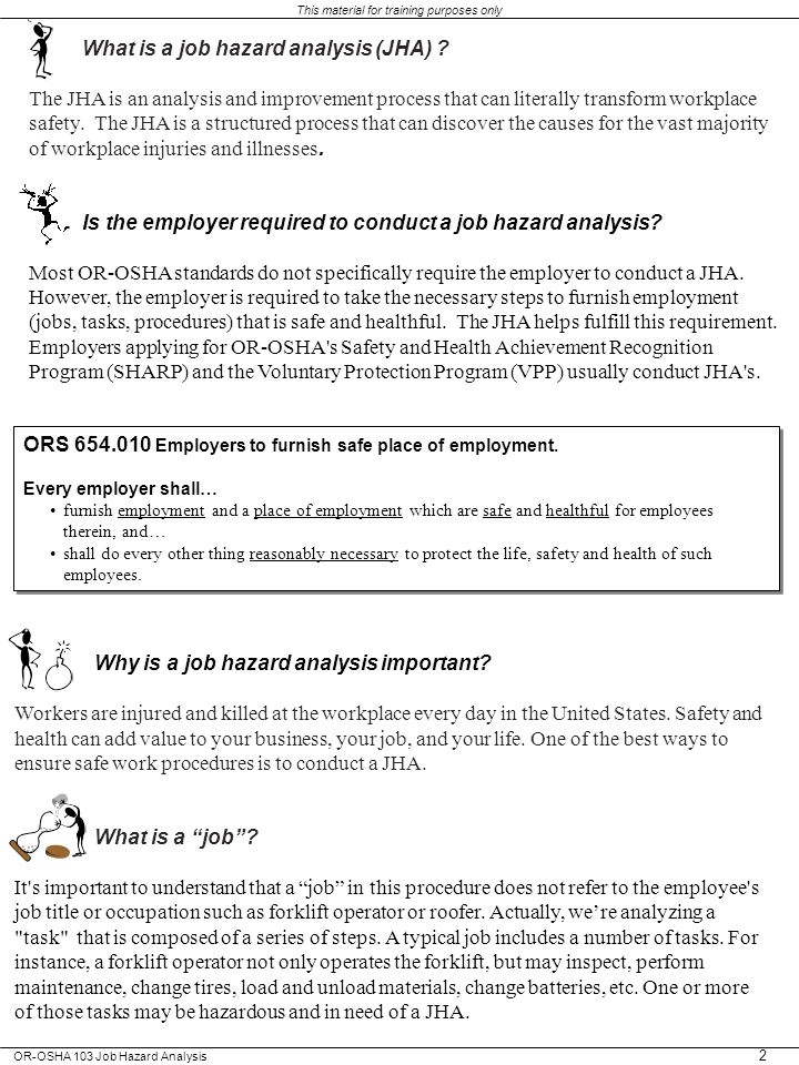 What is a job hazard analysis (JHA)