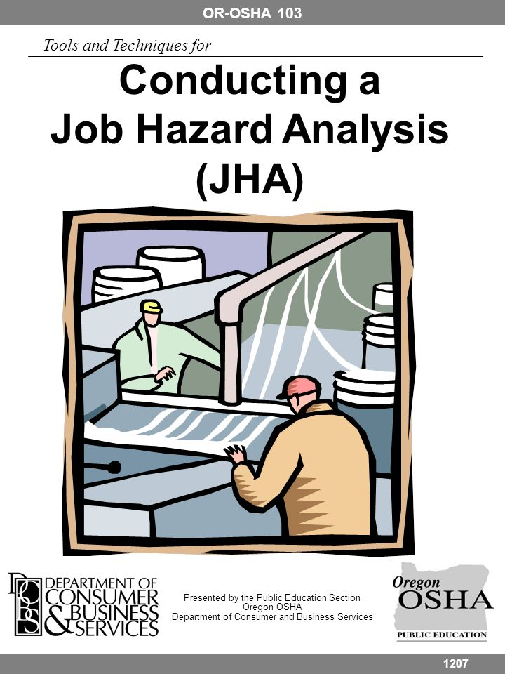 Conducting a Job Hazard Analysis (JHA)