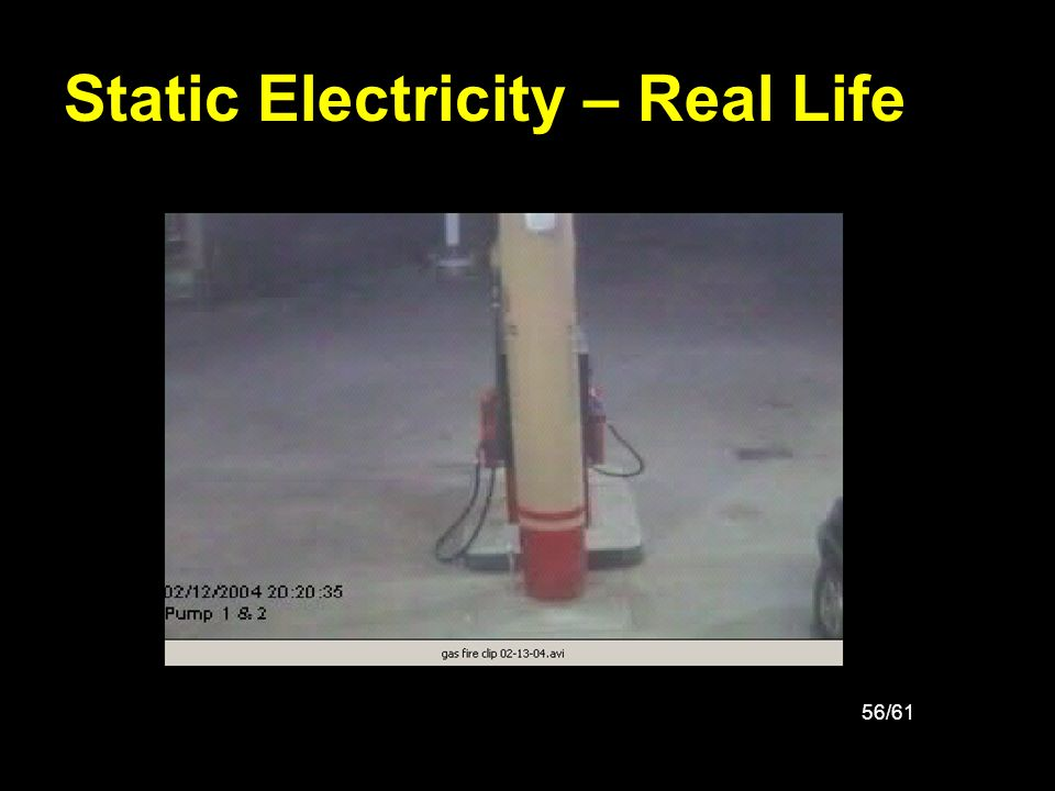 Static Electricity – Real Life