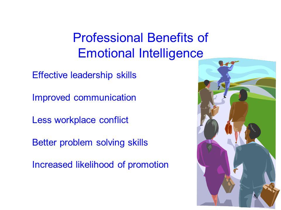 Professional Benefits of Emotional Intelligence