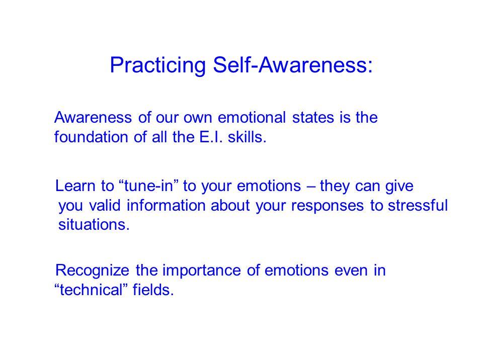 Practicing Self-Awareness: