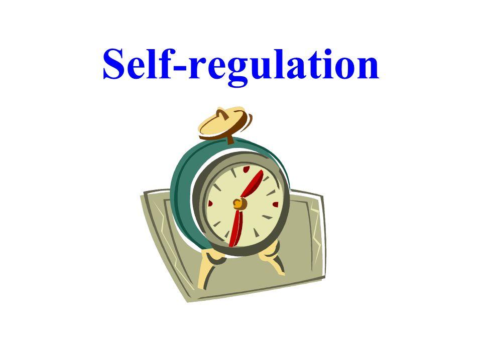 Self-regulation Dr. R. F. Harshberger - 10/30-31/07