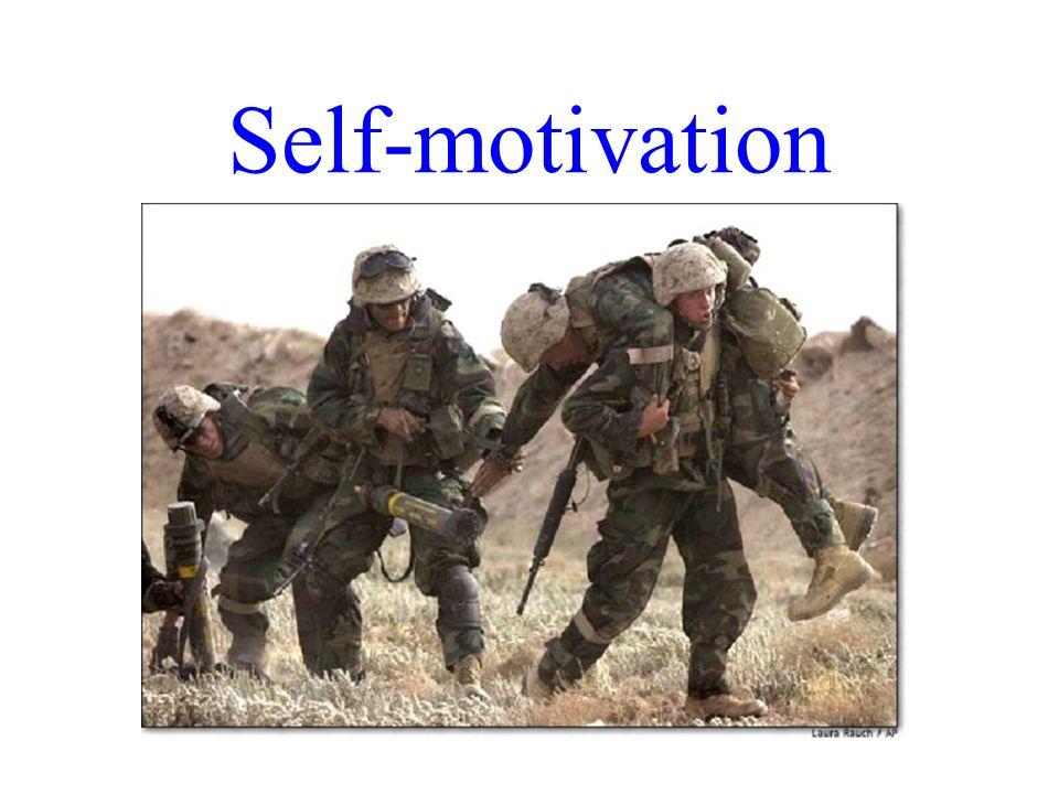 Self-motivation Dr. R. F. Harshberger - 10/30-31/07