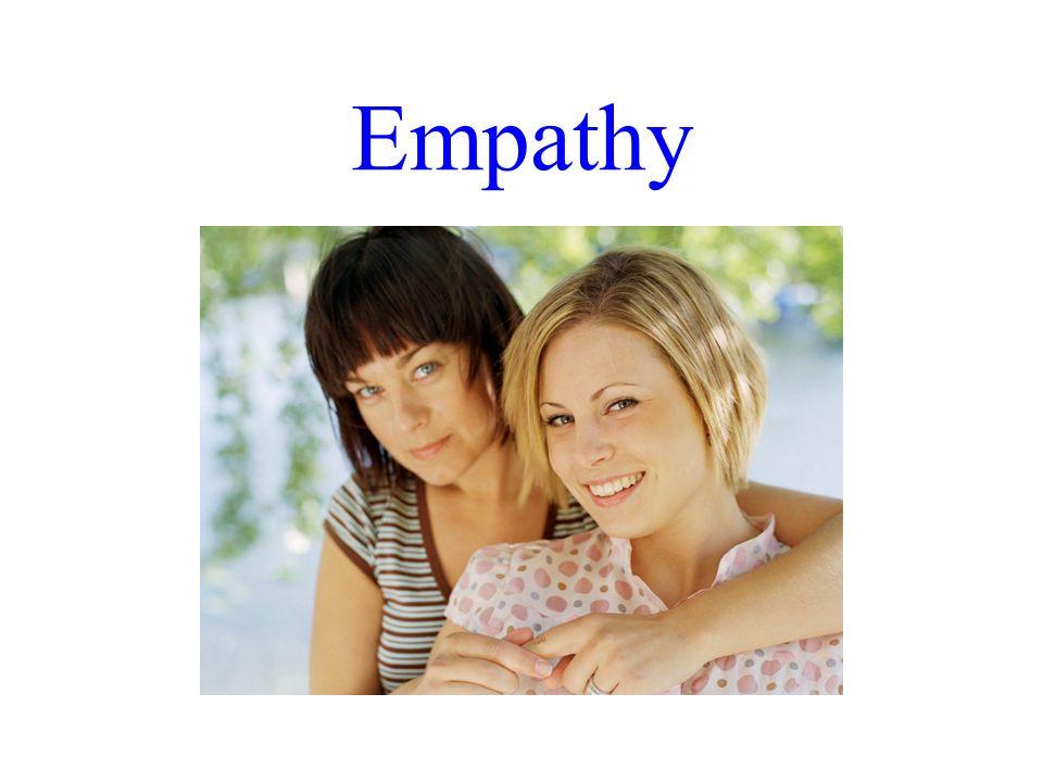 Empathy Dr. R. F. Harshberger - 10/30-31/07