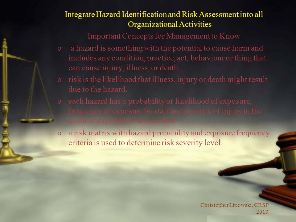 Important Concepts for Management to Know