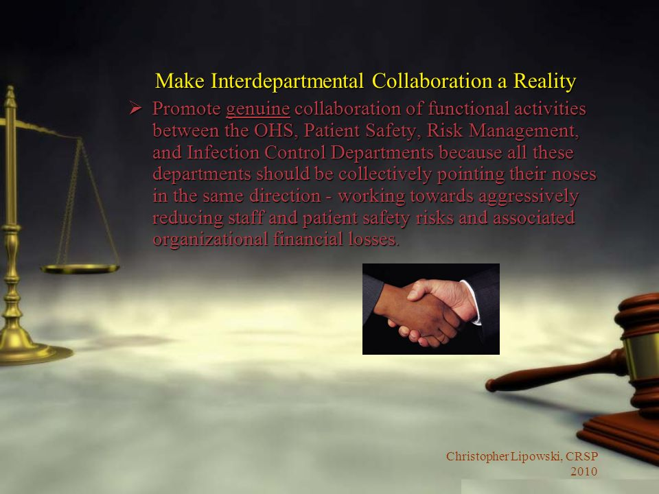 Make Interdepartmental Collaboration a Reality