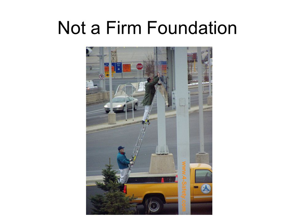 Not a Firm Foundation