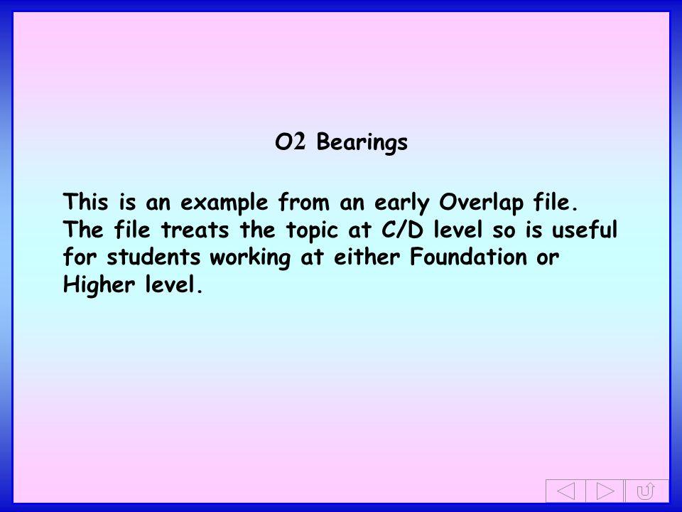 O2 Bearings
