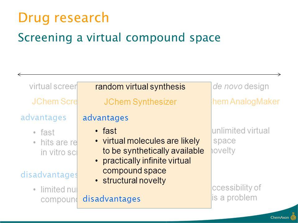 random virtual synthesis