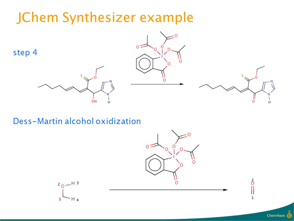 JChem Synthesizer example