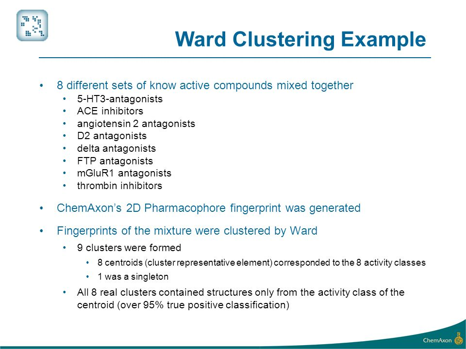Ward Clustering Example