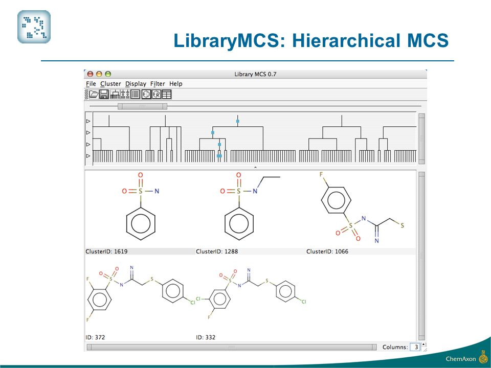 LibraryMCS: Hierarchical MCS