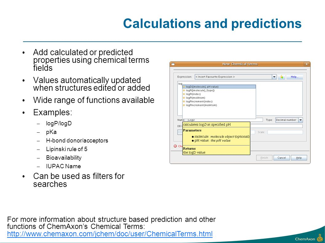 Calculations and predictions