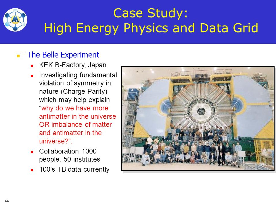 Case Study: High Energy Physics and Data Grid
