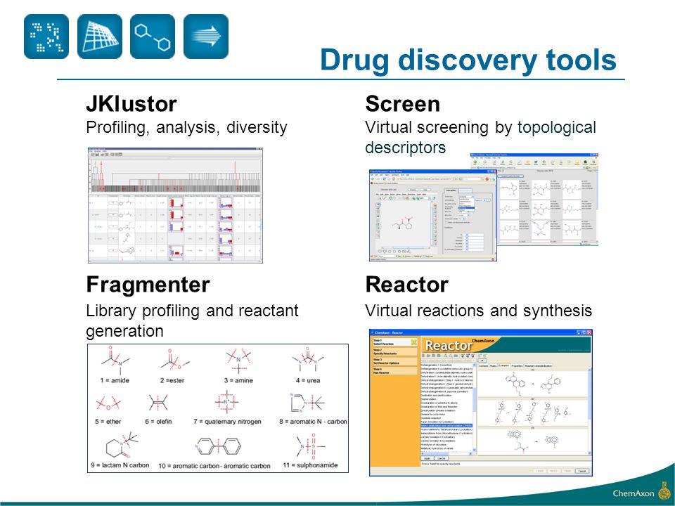 Drug discovery tools JKlustor Screen Fragmenter Reactor