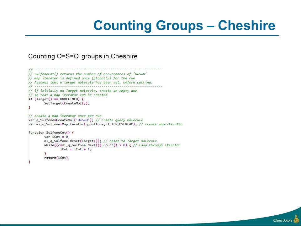 Counting Groups – Cheshire