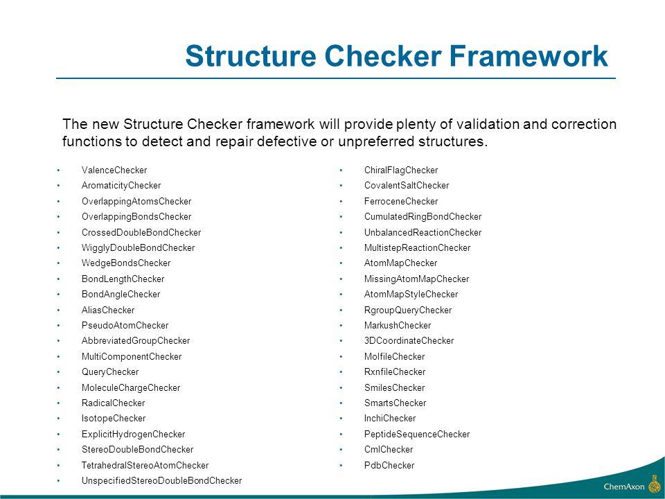 Structure Checker Framework