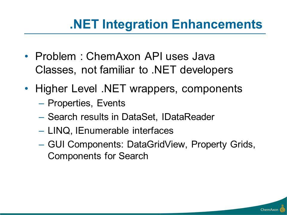 .NET Integration Enhancements