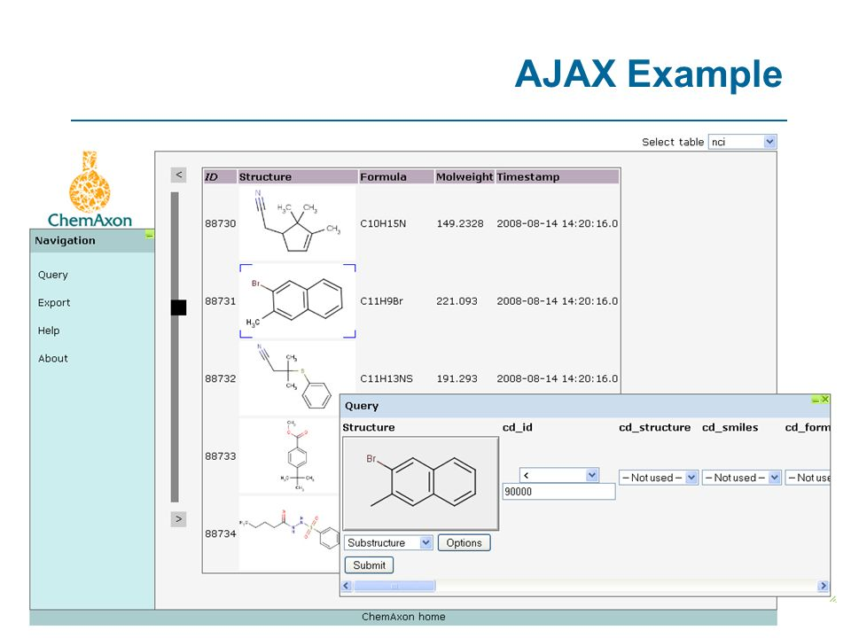 AJAX Example 90 90