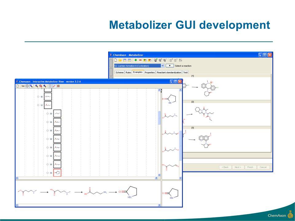 Metabolizer GUI development