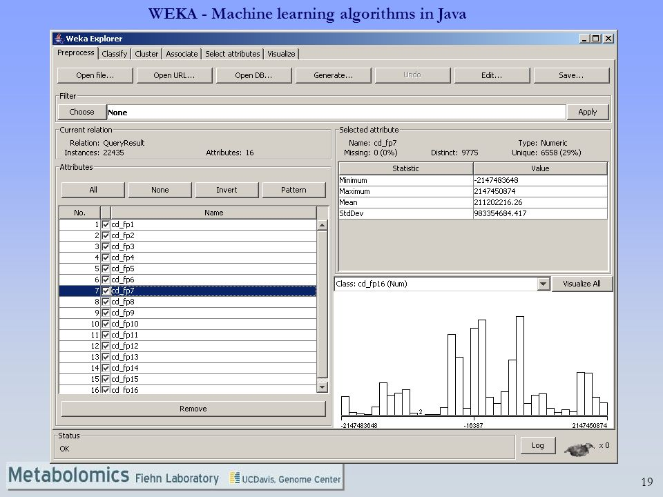 WEKA - Machine learning algorithms in Java