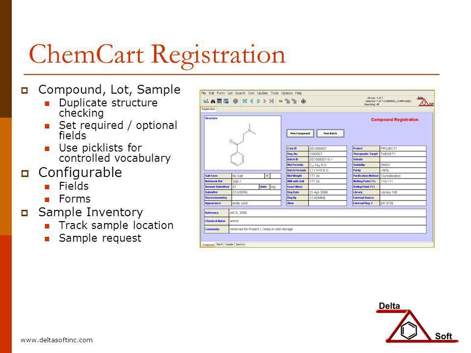 ChemCart Registration