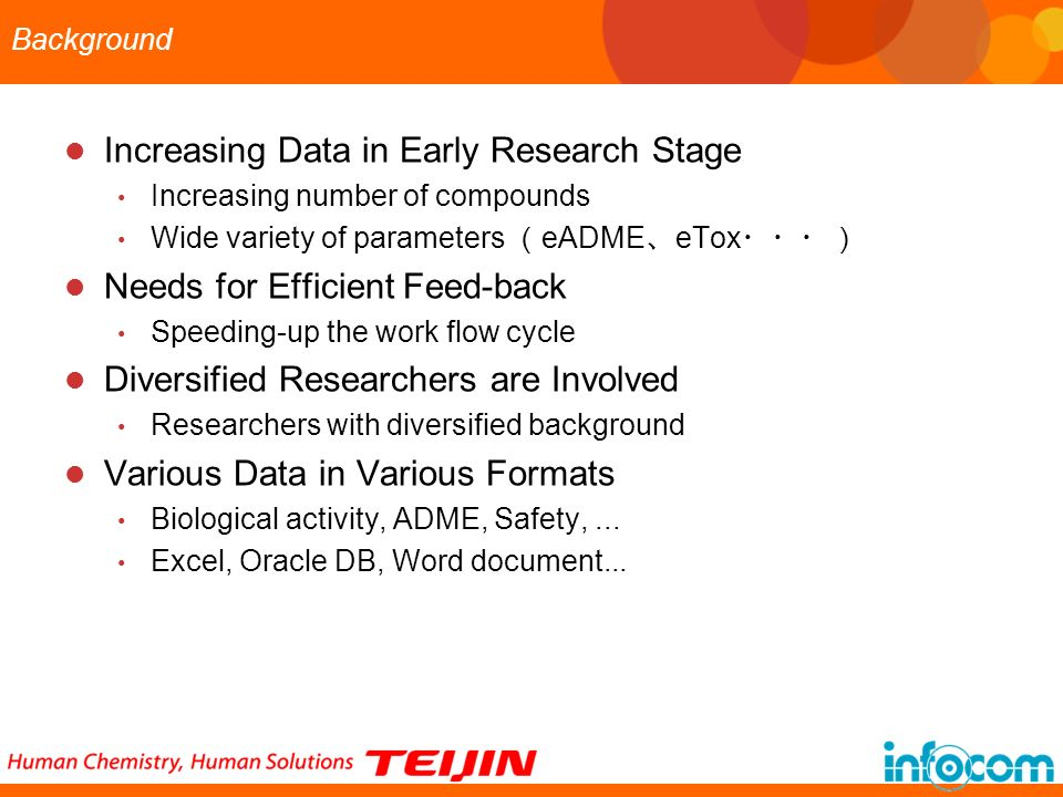 Increasing Data in Early Research Stage