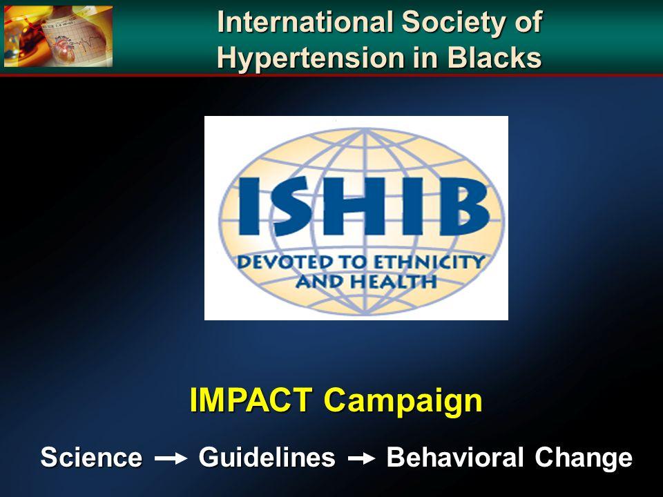 International Society of Hypertension in Blacks