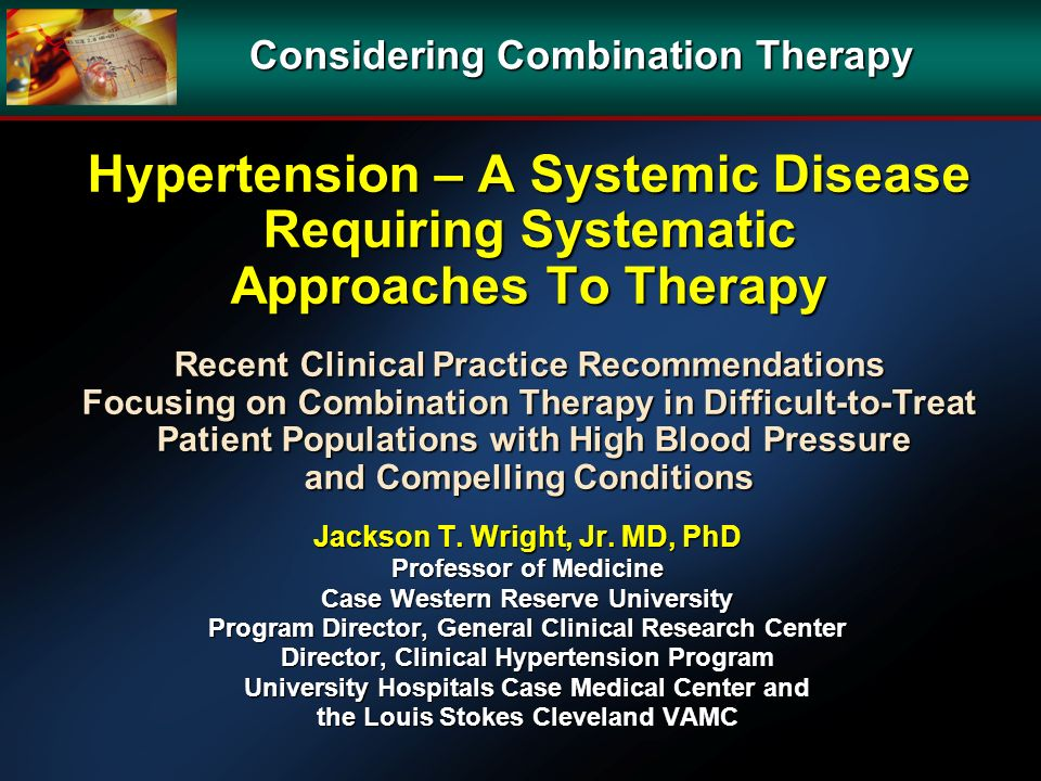 Considering Combination Therapy