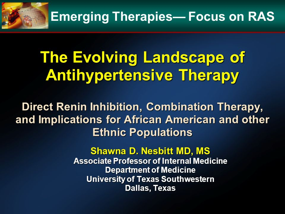 Emerging Therapies— Focus on RAS