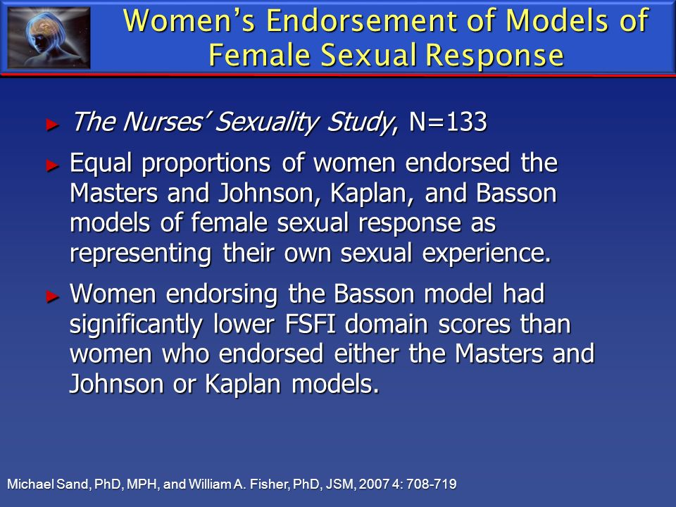 Women's Endorsement of Models of Female Sexual Response