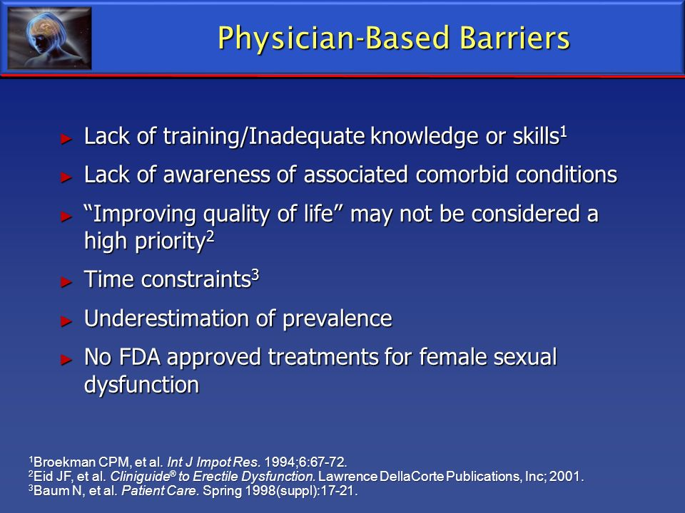 Physician-Based Barriers