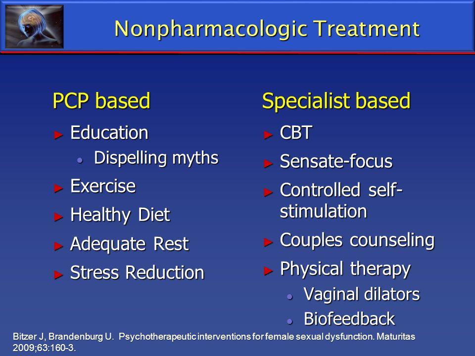 Nonpharmacologic Treatment