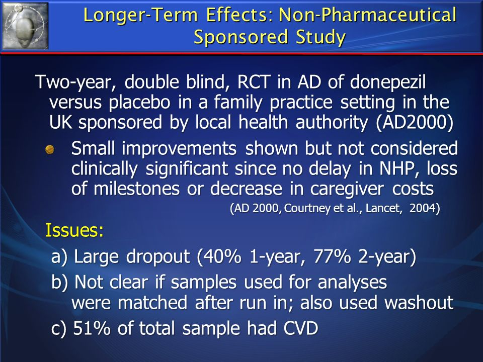 Longer-Term Effects: Non-Pharmaceutical
