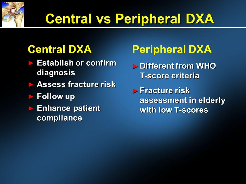 Central vs Peripheral DXA