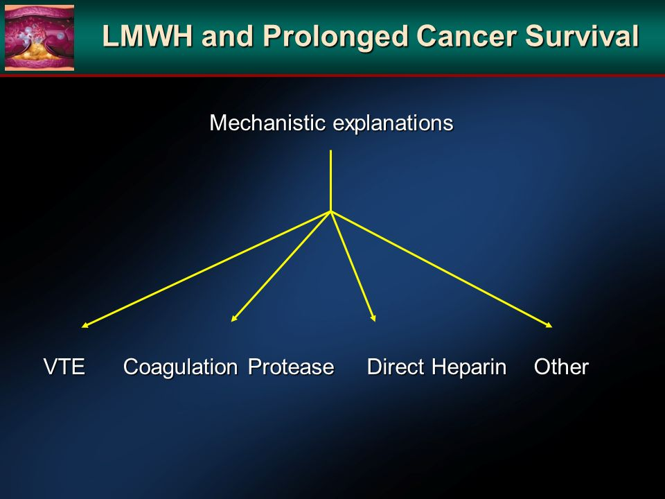 LMWH and Prolonged Cancer Survival