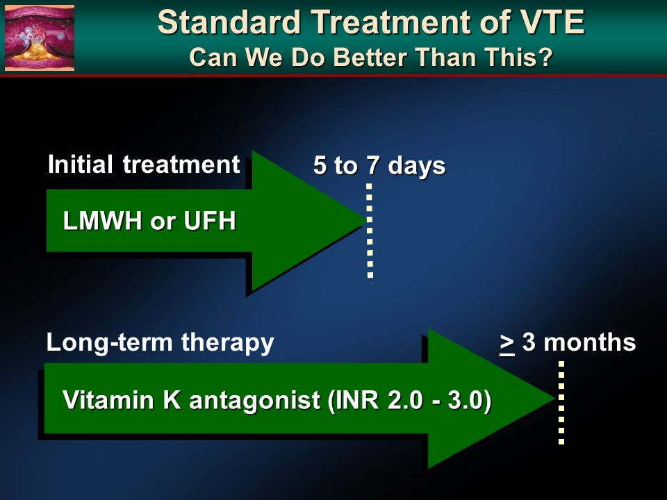 Standard Treatment of VTE Can We Do Better Than This