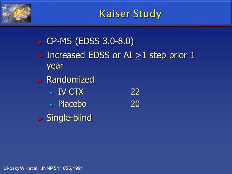 Kaiser Study CP-MS (EDSS 3.0-8.0)
