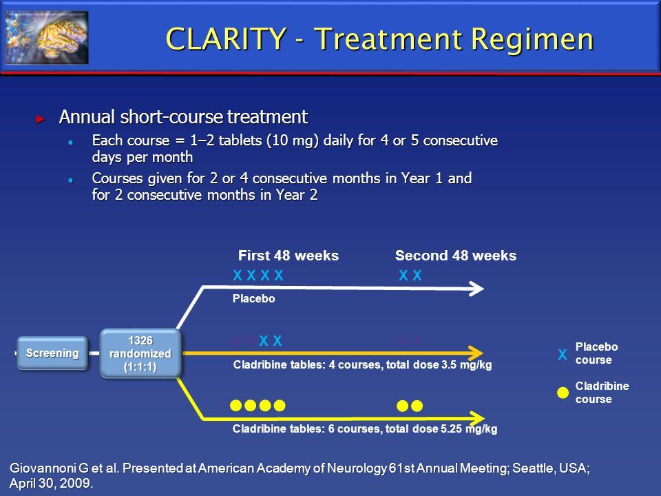 CLARITY - Treatment Regimen