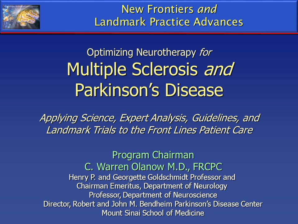 Multiple Sclerosis and Parkinson's Disease